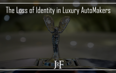 The Loss of Identity in Luxury Automakers.